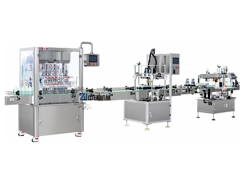 ZHS8 Automatic Liquid Filling Machine