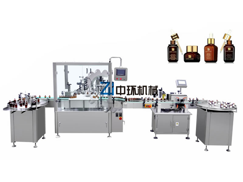 DTNX-60XB Automatic filling and pump capping machine